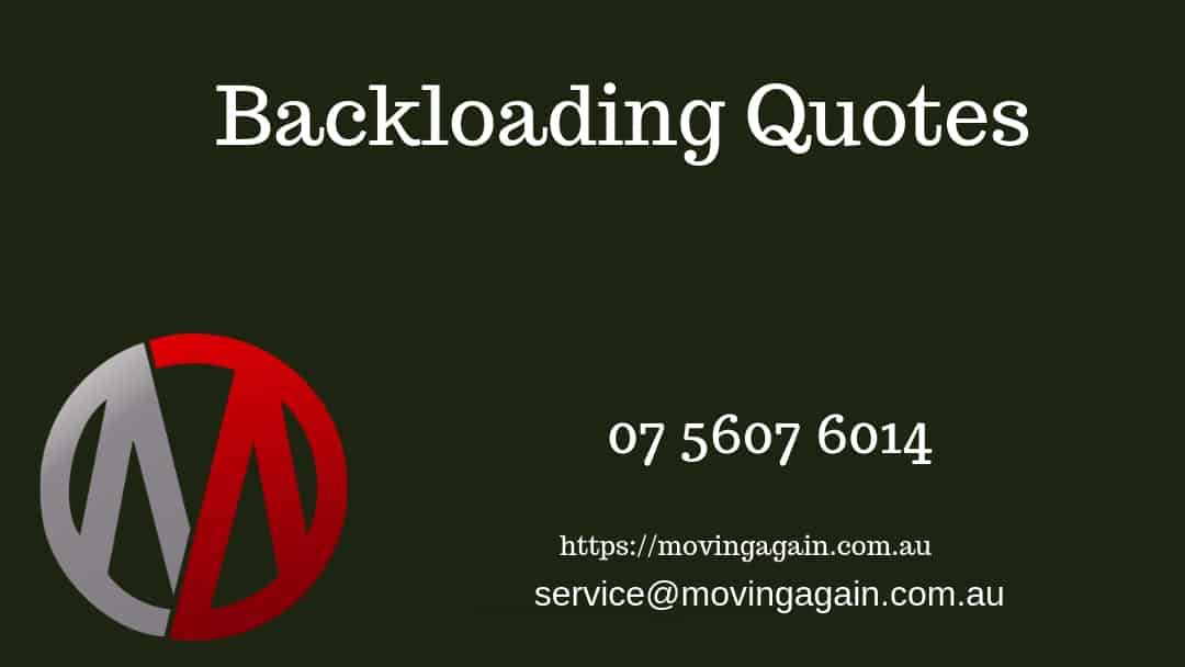 Backloading Quotes